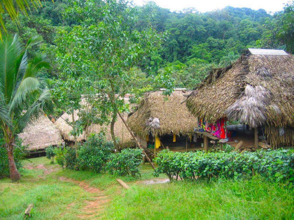 Panama Indigene Völker