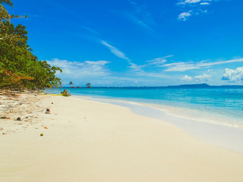 Rundreise Höhepunkte Panama Sandstrand