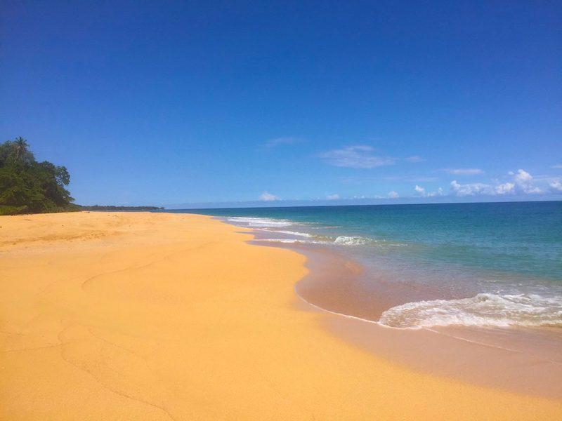 Bocas del Toro Panama: Bluff Bay Beach