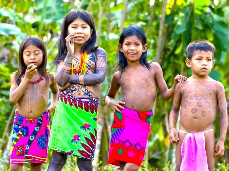 Panama Mietwagenreise Individuell Embera Indianer