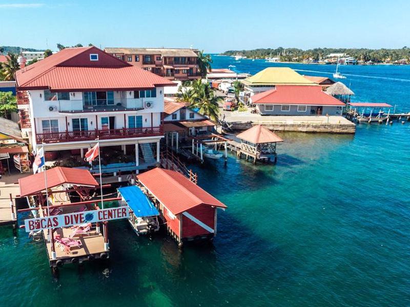 Hotels Bocas del Toro - Divers Paradise Boutique Hotel