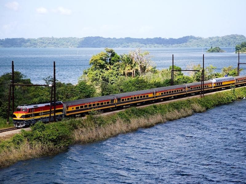 Von Panama nach Kolumbien Zugfahrt